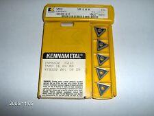 """TNMP332, GR KC313 KENNAMETAL KENLOC CHIP CONTROL"""" CARBIDE INSERTS, 15 PIECES"""