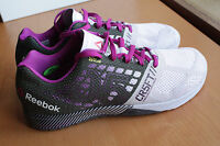 Reebok Nano 5.0 Crossfit Shoes 8.5 UK Training Gym Weightlifting Sneakers Grey
