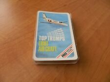 VINTAGE DUBREQ TOP TRUMPS CARD GAME- LIGHT AIRCRAFT