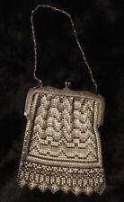 New listing Antique Whiting & Davis Enamel Mesh Handbag