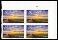 #5091 Indiana Statehood, Plate Block [P1111 UR], Mint **ANY 4=FREE SHIPPING**