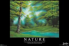 BOB ROSS - NATURE - INSPIRATIONAL ART POSTER 24x36 - 3113