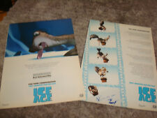 ICE AGE 2002 Oscar ads Sid, giant sloth, tongue stuck in ice, Scrat with acorn
