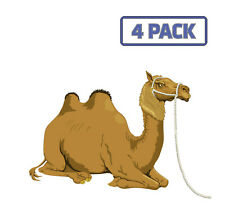 Camel Bactrian Two Humps Resting Reins Animal Sticker Vinyl Decal