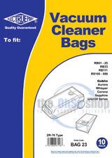 10 x GOBLIN - Whisper Vacuum Cleaner Bags ZR-76 Type