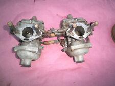 1967 Alpine Sunbeam 1725  carburetors pair Stromberg