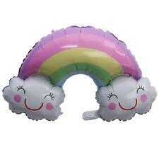 Rainbow Balloon Smile Cloud Foil Balloon Wedding Birthday Party Decor Supplies