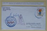 s1482) Raumfahrt Space Shuttle STS-2 Beleg Quito - STDN NASA Station OU R. Truly