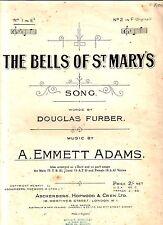 The BELLS OF ST.MARY'S Words by DOUGLAS FURBER Music by A.EMMETT ADAMS VVGC