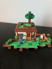 Lego Minecraft 21115 First Night 100% Complete W/ Manual