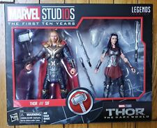 Thor The Dark World Marvel Studios The First Ten Years Marvel Legends Sif, Thor