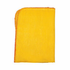 More details for robert scott cleaning cloth yellow 50 x 40cm pack of 10