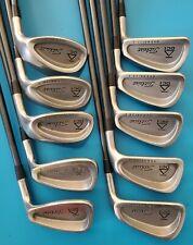 Titleist DCI Oversize 3-PW, SW,W (10 clubs) Stiff Flex Graphite Shaft Iron Set