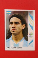PANINI FIFA WORLD CUP GERMANY 2006 06 N. 182 ARGENTINA SORIN  MINT!!!
