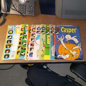 Casper The Friendly Ghost 11 Issue Silver Modern Age Harvey Comics Lot run set
