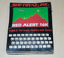 Red Alert 16K Sinclair ZX81 / Timex TS 1000 old stock New Factory Sealed