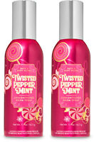 Bath & Body Works Twisted Pepperminrt Concentrated Room Spray X2