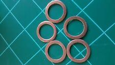 5 X MB Copper Engine Oil Drain Plug Gaskets 14x20x1.5mm