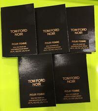 NEW X 5 TOM FORD Noir Pour Femme Eau de Parfum Spray Samples 0.05oz/1.5ml EACH