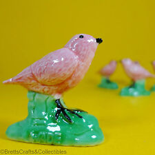 Wade Whimsies (2008) Bird Whimsies Retail Issues - Pink Robin