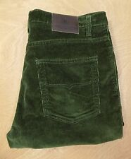 "Blue Harbour Smart/Casual Straight Leg Corduroy Jeans Green Waist 34"" Leg 29"""