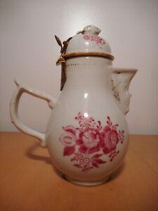 Verseuse chocolatière ancienne porcelaine allemande 18 siècle Allemagne