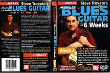 Lick Library, American Blues Guitar In 6 Weeks, Week 4 - Guitar Instruction DVD