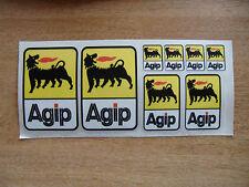 Kit Autocollant Logo AGIP-voiture / moto stickers