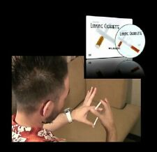 LINKING CIGARETTE DVD by AKIRA FUJII MAGIC TRICK USE STRAWS SMALL MARKERS TWIGS