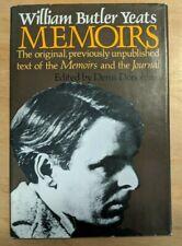 Memoirs by William Butler Yeats