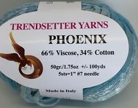 Trendsetter Yarn Phoenix Knitting Sweater Scarf Crochet Cotton