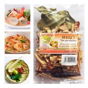 Dehydrated Tom Yum Set Spicy Herb Spice Natural Sauce Flavour Thai Food Soup Hot