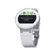 Alcatel OneTouch SM-02 white Sports Band Fitness Running Smart Watch Heart Rate