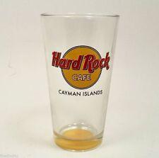 NEW Hard Rock Cafe Cyman Island Pint Glass(es) Tea Water Beer Libbey