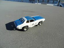 Afx Aurora 43 Blue White Plymouth Road Runner Ho Slot Car Vintage Nos Chassis