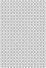 Creative Expressions Checkboard PUNTO A4 Plantilla de Textura efpp-003