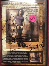Criss Angel autograph Signed Cd Cover Only No Cd Attempted guarantee