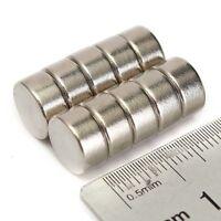 10/20/50 Neodym Mini-Magnete Scheiben-Magnete 10x5mm rund extra-starke Haftkraft