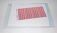 TAMIYA F-16CJ BLOCK 50 60315 PARTS *DECALS+PLACEMENT GUIDE+RBF TAGS* 1/32
