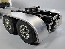 Pair Aluminum Fender + Frame Mount Bracket Tamiya 1/14 Semi King Knight Hauler