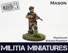 28mm Modern Wargames / Roleplaying - Militia Miniatures - Mason
