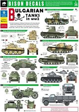 Bison Decals 1/35 Bulgarian Tanks in WW2 35112