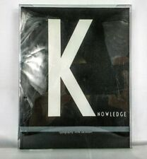 Knowledge Book A5 Personal Notebook Design Letters + Arne Jacobsen Typography