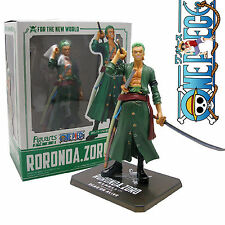 "16cm/6.3"" ONE PIECE POP RORONOA ZORO PVC Action Figure Toy Doll In BOX Hot"