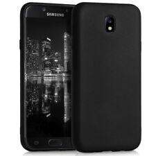 Dun TPU Hoesje voor Samsung Galaxy J7 2017 DUOS Telefoonhoesje Soft Zacht Zwarte