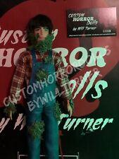 "CREEPSHOW Jordy Verrill CUSTOM HORROR DOLL Stephen King OOAK 12"" Action Figure"
