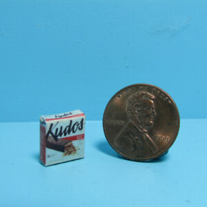 Dollhouse Miniature Replica Box of Kudos Snack Bars