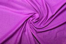 Purple Metal Print Lycra/Spandex 4 way stretch Fabric