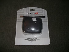 NEW SEALED Genuine Official TomTom GPS Carry Case and Strap Black
