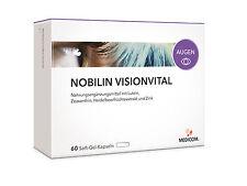 MEDICOM NOBILIN VISIONVITAL Vitalstoffe für die Augen 60 Stück (0,36€/Kapsel)